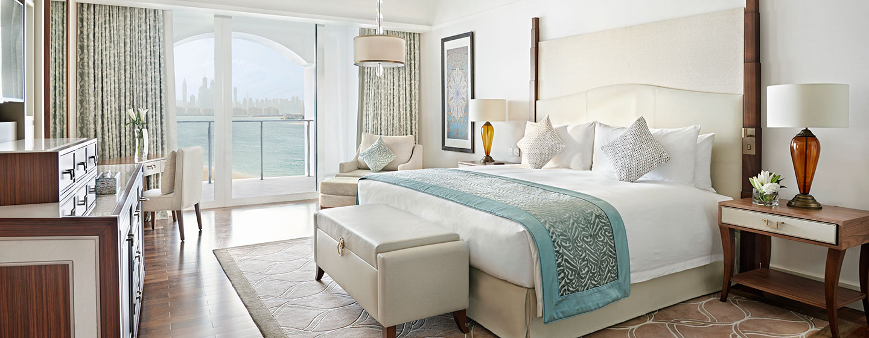 Waldorf Astoria Dubai Palm Jumeirah, VAE – Deluxe Zimmer mit Kingsize-Bett