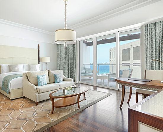 Waldorf Astoria Dubai Palm Jumeirah hotel, VAE - Superior Zimmer mit King-Size-Bett und eingeschränkter Aussicht