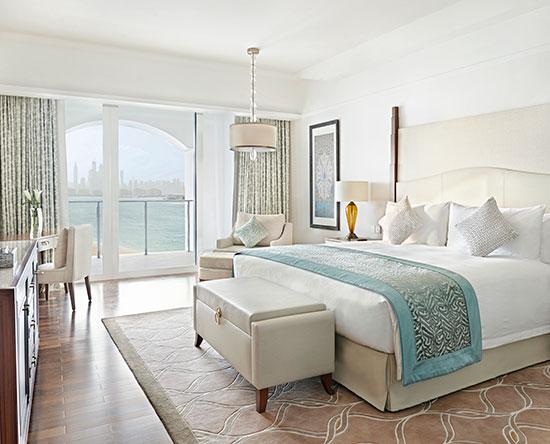 Waldorf Astoria Dubai Palm Jumeirah hotel, VAE - Premier Suite mit King-Size-Bett und Loungezugang