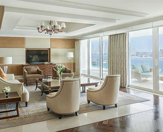 Waldorf Astoria Dubai Palm Jumeirah hotel, VAE - Präsidenten Suite