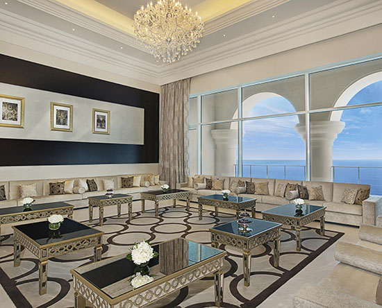 Waldorf Astoria Dubai Palm Jumeirah hotel, VAE - Royal Suite