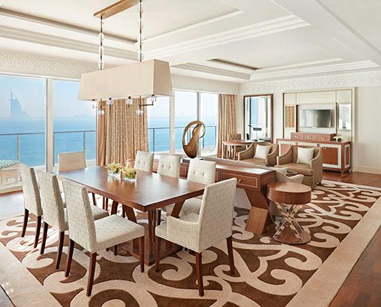 Waldorf Astoria Dubai Palm Jumeirah hotel, VAE - Waldorf Astoria Suite mit Loungezugang