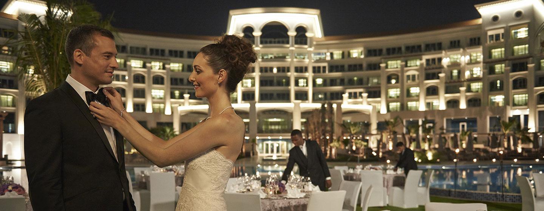 Waldorf Astoria Dubai Palm Jumeirah hotel, VAE - Planen Sie Ihre Hochzeit