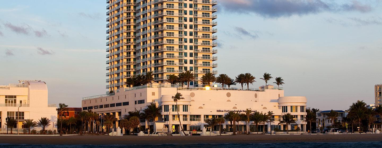 Gern begrüßen wir Sie im schönen Hotel amStrand von Ford Lauderdale