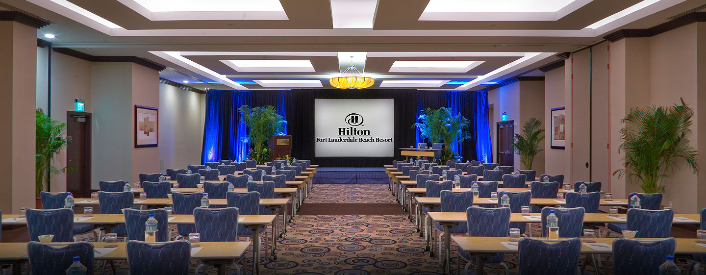 Der Ballsaal im Hotel ist ein idealer Ort für Meetings und Konferenzen