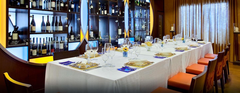 Im Hotel stehen Ihnen private Essbereiche für schöne Dinner zur Verfügung
