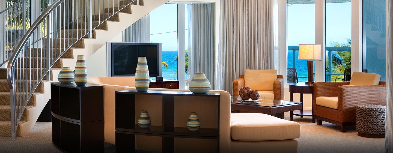 Fühlen Sie sich in der Präsidenten Suite des Hotels auf insgesamt 2 Etagen wie zu Hause