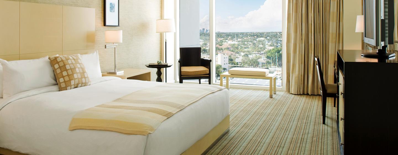 In den großen und frisch renovierten Zimmern können Sie entspannen