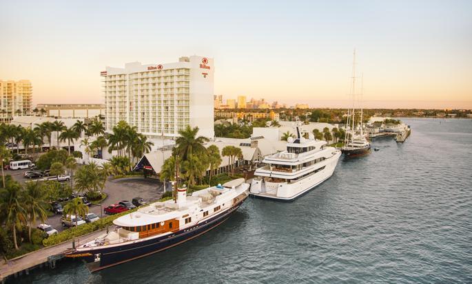 Hilton Fort Lauderdale Marina - Exterior