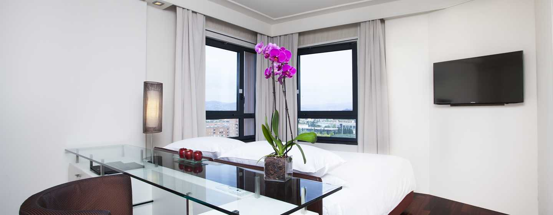 Hilton Florence Metropole Hotel, Italien– Eckzimmer mit Stadtblick