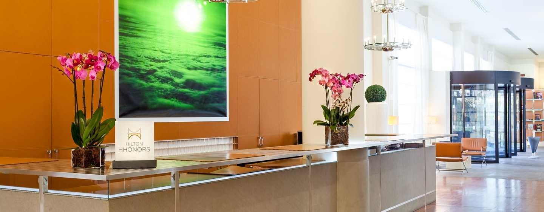 Hilton Garden Inn Florence Novoli Hotel, Italien – Empfang