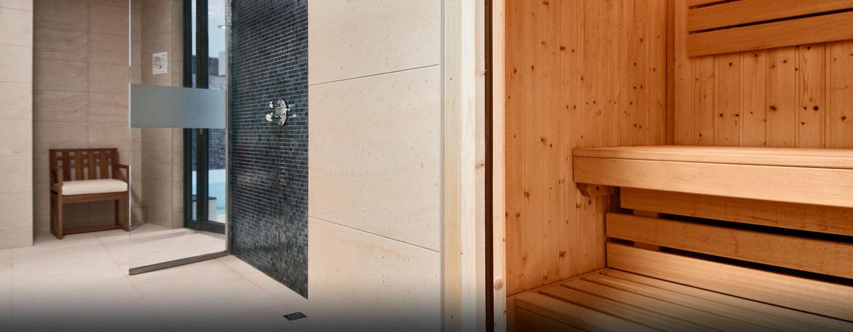 Im Luxushotel in Danzig befindet sich auch eine schöne Sauna