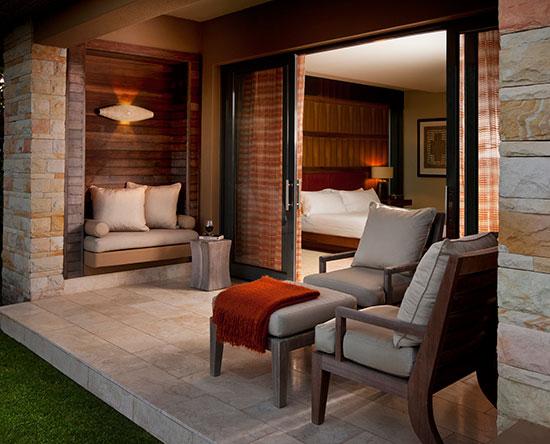 Conrad Pezula Hotel, Knysna, Südafrika - Junior Deluxe Suite mit zwei Einzelbetten