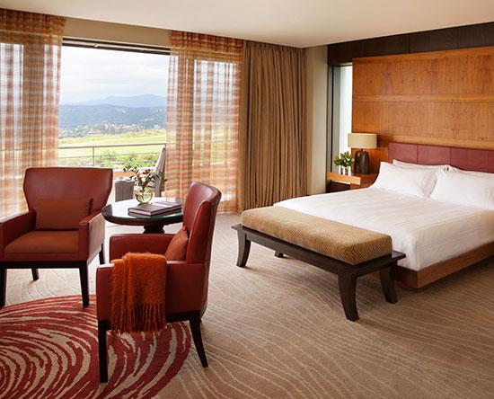 Conrad Pezula Hotel, Knysna, Südafrika - Junior Superior Suite mit King-Size-Bett