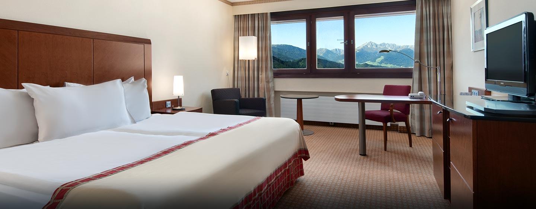 Hilton Deluxe Zimmer mit King-Size-Bett