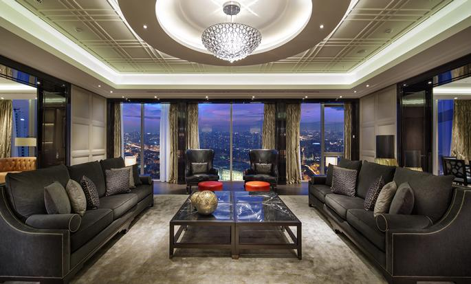 Hilton Istanbul Bomonti Hotel & Conference Center - Presidential Suite Living Room