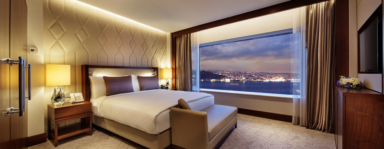 Conrad Istanbul Hotel, Türkei – Deluxe Zimmer mit King-Size-Bett