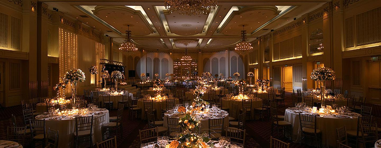 Conrad Istanbul Hotel, Türkei – Ballsaal