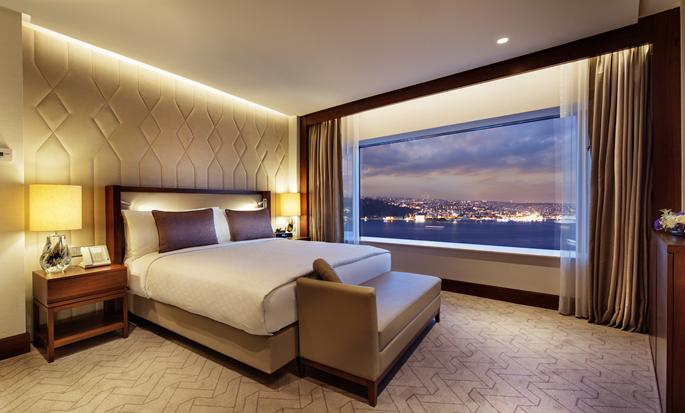 Conrad Istanbul Hotel, Türkei– Suite