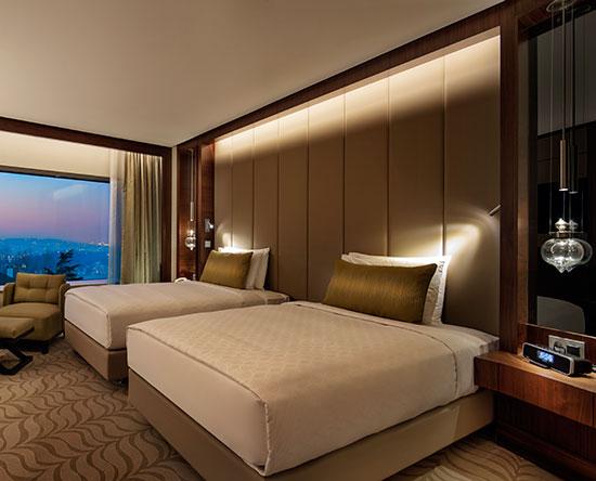 Conrad Istanbul Hotel, Türkei – Deluxe Zweibettzimmer