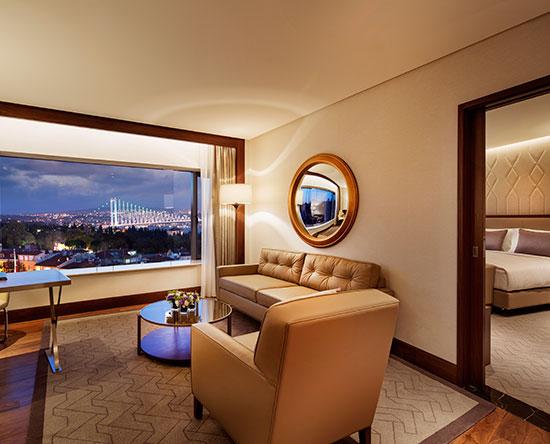 Conrad Istanbul Hotel, Türkei– Bosphorus Suite