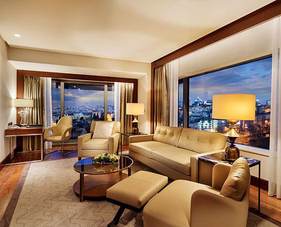 Conrad Istanbul Hotel, Türkei – Park Suite mit Balkon