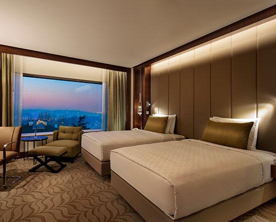 Conrad Istanbul Hotel, Türkei – Executive Zweibettzimmer mit Parkblick
