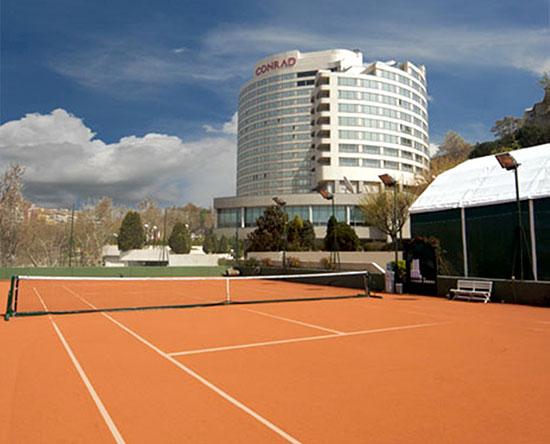 Conrad Istanbul Hotel, Türkei – Conrad Istanbul Tennis Club