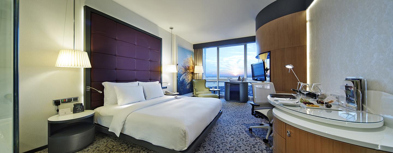 Entspannen Sie im schönen Deluxe Zimmer mit King-Size-Bett