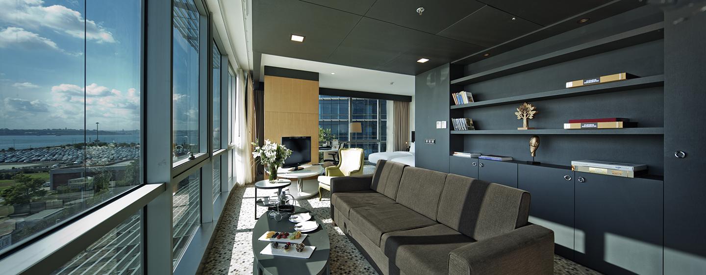 Die stillvolle Junior Suite überzeugt unsere Gäste mit viel Platz und bequemen Einzelbetten