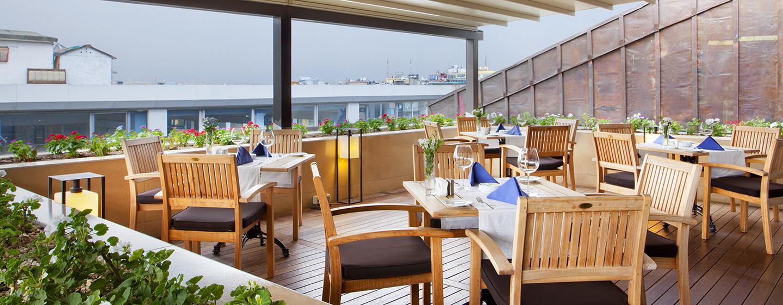 DoubleTree by Hilton Hotel Istanbul – Old Town Hotel, Türkei – Restaurant Terrace
