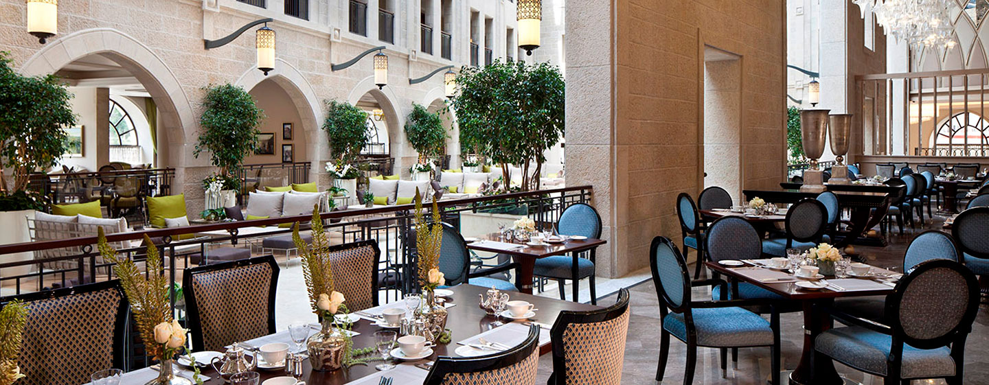 Waldorf Astoria Jerusalem – Restaurants