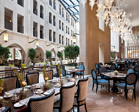 Waldorf Astoria Jerusalem Hotel, Israel – The Palace Restaurant