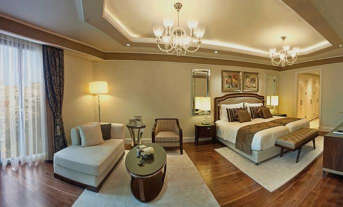 Waldorf Astoria Jerusalem Hotel, Israel – Deluxe Zimmer mit King-Size-Bett