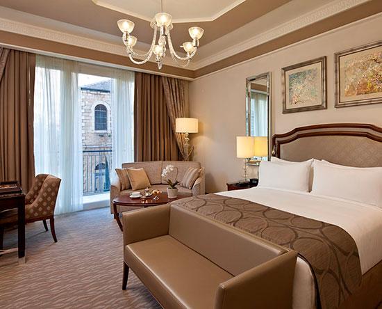 Waldorf Astoria Jerusalem Hotel, Israel – Deluxe Zweibettzimmer mit Balkon