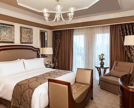 Waldorf Astoria Jerusalem Hotel, Israel – David Tower Suite