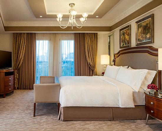Waldorf Astoria Jerusalem Hotel, Israel – Suite mit einem Schlafzimmer und King-Size-Bett