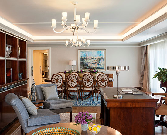 Waldorf Astoria Jerusalem Hotel, Israel – Palace Suite