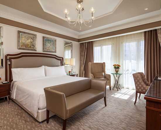 Waldorf Astoria Jerusalem Hotel, Israel – Grand Deluxe Zimmer mit King-Size-Bett