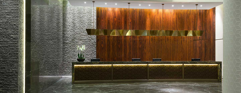 Hilton Kyiv, Ukraine – Empfang