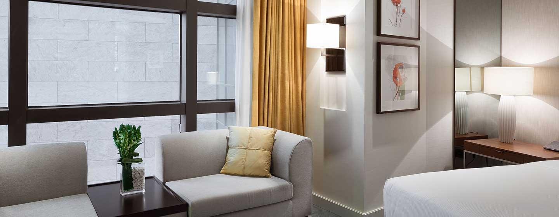 Hilton Kyiv, Ukraine – Hilton Deluxe Zimmer