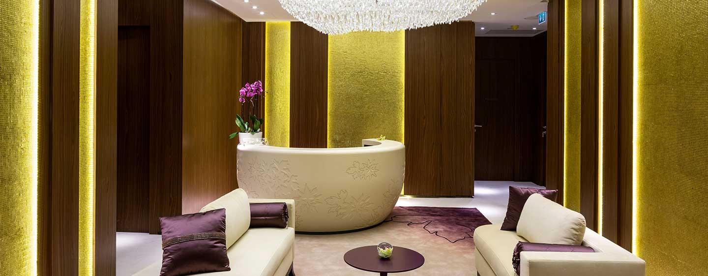 Hilton Kyiv, Ukraine – Empfangsbereich des Spa