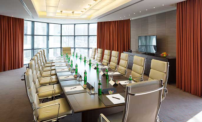 Hilton Kyiv Hotel, Ukraine – Meetingraum