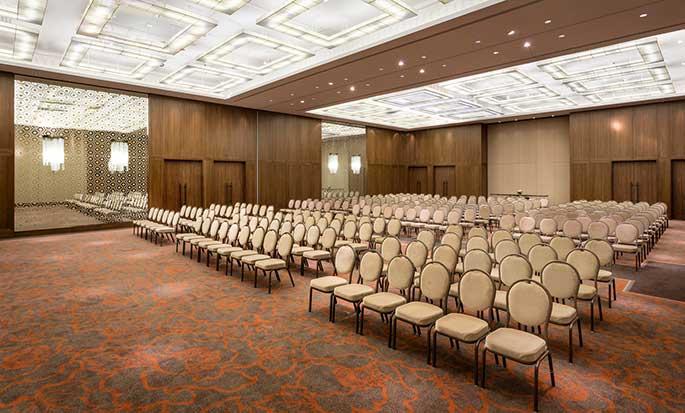 Hilton Kyiv Hotel, Ukraine – Ballsaal Dallas
