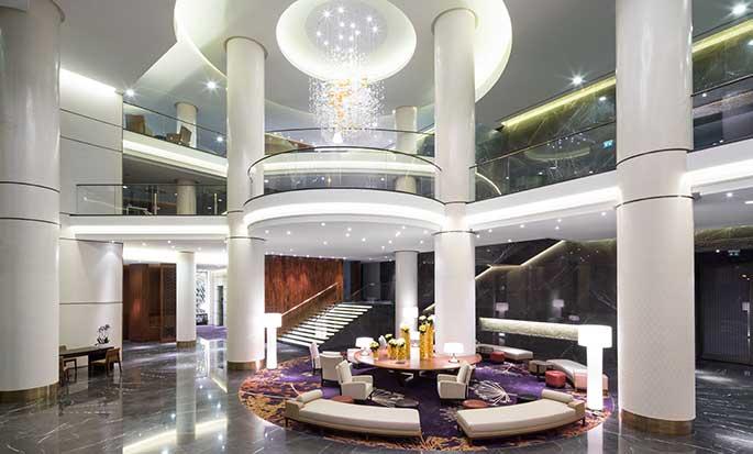 Hilton Kyiv Hotel, Ukraine – Lobby