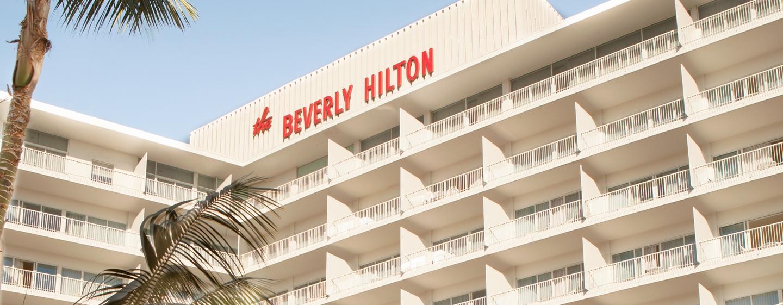 The Beverly Hilton - Außenansicht des Hotels