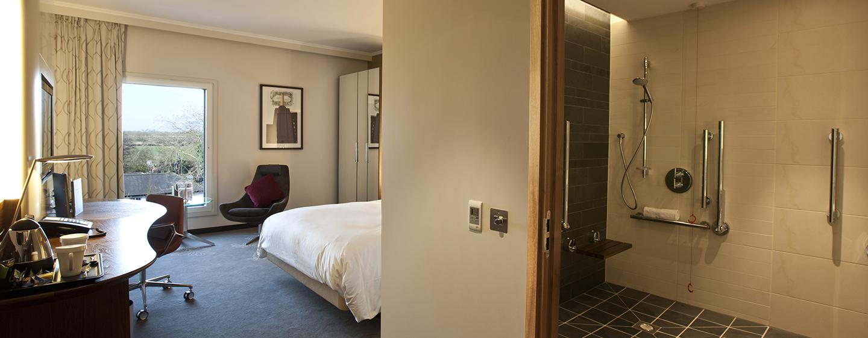 Gästen mit speziellen Bedürfnissen stellen wir barrierefreie Zimmer zur Verfügung