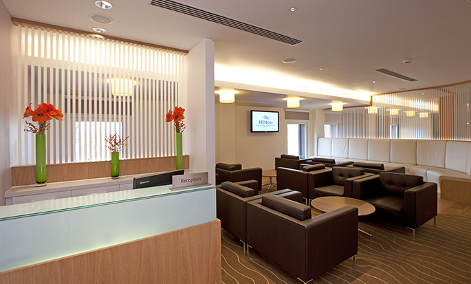 Hilton London Heathrow Airport Terminal 5 - Executive Lounge