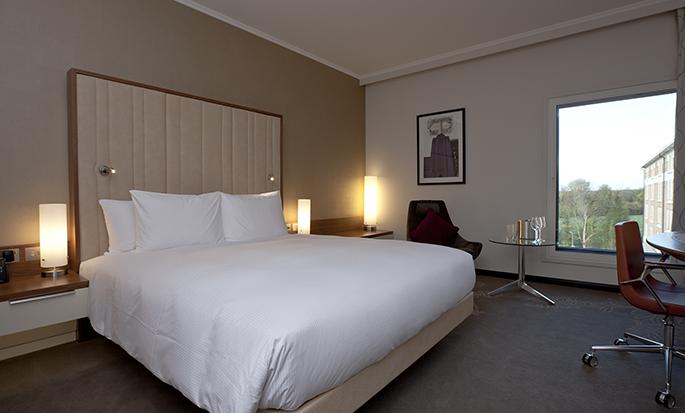 Hilton London Heathrow Airport Terminal 5 - King Room