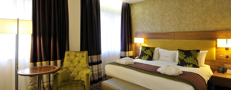 Das elegante Executive Doppelzimmer verfügt über mehr Platz und ein großes Bett